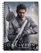 Oblivion Tom Cruise Spiral Notebook