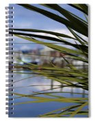 Obscured View Of Percival Landing Spiral Notebook