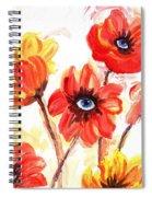 Observant Flowers 101 Spiral Notebook
