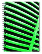 Observe Green Spiral Notebook