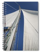 Obsession Sails 2 Spiral Notebook