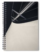 Obsession Sails 4 Black And White Spiral Notebook