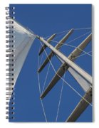 Obsession Sails 6 Spiral Notebook