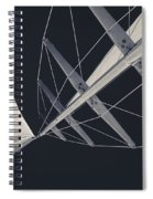 Obsession Sails 7 Black And White Spiral Notebook