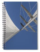 Obsession Sails 8 Spiral Notebook