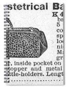 Obstetrical Bag, C1900 Spiral Notebook