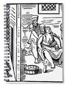 Obstetrical Chair Spiral Notebook