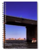 O.c. Bridge N Skyline Spiral Notebook