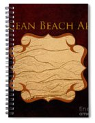 Ocean Beach Art Gallery Spiral Notebook