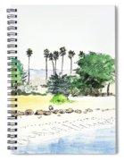 Ocean Beach Spiral Notebook