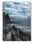 Ocean Beach Pacific Northwest Spiral Notebook