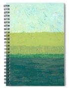Ocean Blue And Green Spiral Notebook