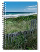 Ocean Blues Square Spiral Notebook