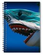 Ocean City Shark Attack Spiral Notebook