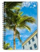 Ocean Drive Spiral Notebook