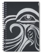 Ocean Eagle Eye Spiral Notebook