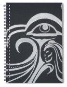 Ocean Eagle Eye Spiral Notebook
