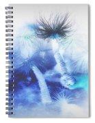 Ocean Floor Abstract Spiral Notebook