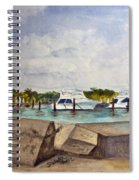 Ocean Inlet Marina Spiral Notebook