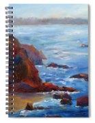 Ocean Light Spiral Notebook