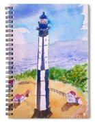 Ocean Lighthouse Spiral Notebook