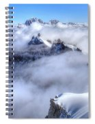 Ocean Of Clouds Spiral Notebook