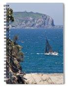 Ocean Racing I Spiral Notebook