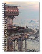 Ocean Refueling Platform Spiral Notebook