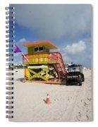 Ocean Rescue Miami Spiral Notebook