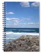 Great Ocean Road Surf, Australia - Panorama Spiral Notebook
