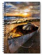 Ocean Salty Spiral Notebook