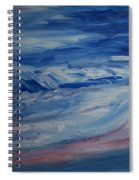 Ocean Shoreline Spiral Notebook