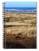 Ocean Shores Boardwalk Spiral Notebook