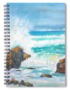 Ocean Storm Sea Squall    Spiral Notebook