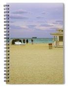 Ocean View 3 - Miami Beach - Florida Spiral Notebook