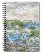 Ocean Waves Spiral Notebook
