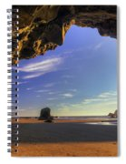 Oceanside Hideout Spiral Notebook