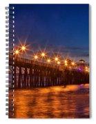 Oceanside Pier Evening Spiral Notebook