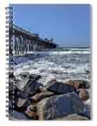 Oceanside Rocks Spiral Notebook