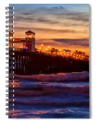 Oceanside Sunset IIi Spiral Notebook