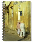 Ochre Wall 02 Spiral Notebook