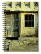 Ochre Wall 03 Spiral Notebook