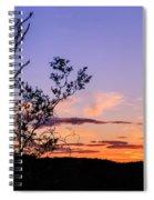 Ocotillo Sunset Spiral Notebook