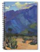 Ocotillos At Smoke Tree Ranch Spiral Notebook