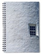 Ocracoke Island Light Spiral Notebook