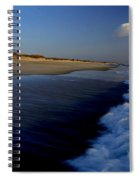 Ocracoke Surf Spiral Notebook
