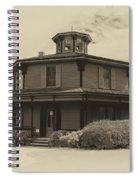 Octagon House  17739b Spiral Notebook