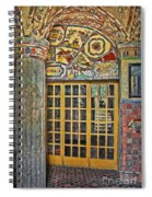 October At Fonthill Castle Spiral Notebook