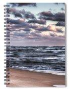 October At The Beach Saugatuck Michigan Spiral Notebook