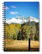 October Day  Spiral Notebook